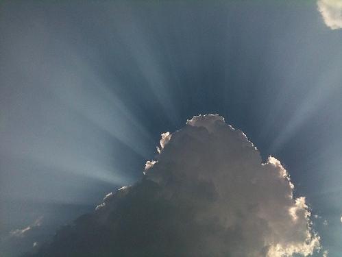 """Ray of Sunshine"",© 2011 Jamie Pfister, Flickr | CC-BY | via Wylio"